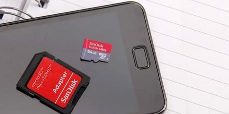 Imagine della scheda di memoria per aiutarti a recuperare la scheda di memoria.