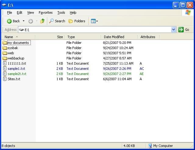 Recuperare i file compressi su unità NTFS