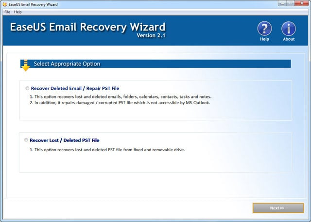 Email Recovery Software recupera eamil perse e cancellate.