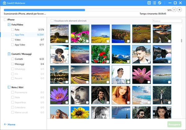 Recuperare i messaggi di linea e foto da iPhone memoria e di backup iCloud iTunes.