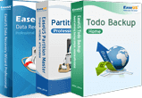 Todo Backup Home + Partition Master Pro + Data Recovery Wizard Pro