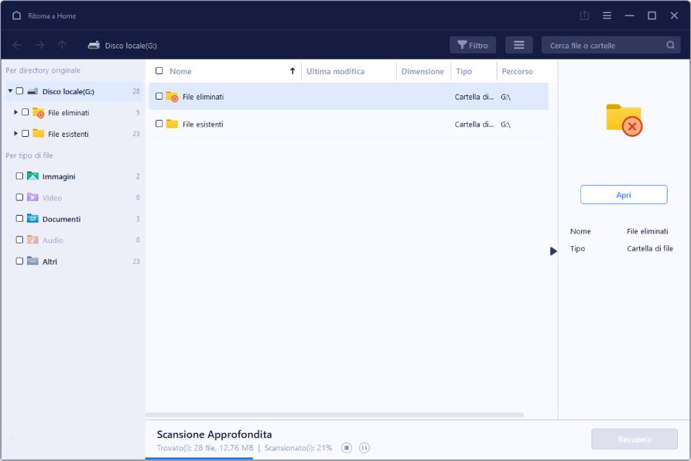 EaseUs Software Recupero Dati